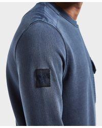 Pretty Green - Blue Trebeck Sweatshirt for Men - Lyst