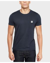 BOSS - Blue Tommi Short Sleeve T-shirt for Men - Lyst