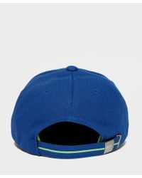 BOSS - Blue Green Pique Sport Cap for Men - Lyst