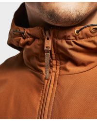 Fred Perry - Brown Quilted Padded Brentham Jacket for Men - Lyst