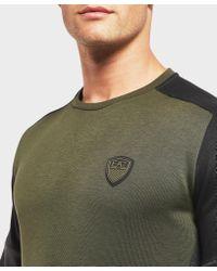 EA7 - Multicolor Premium Cut And Sew Sweatshirt - Exclusive for Men - Lyst