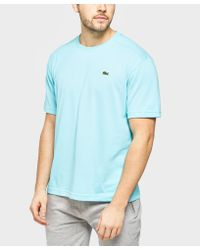 Lacoste - Blue Croc Short Sleeve T-shirt for Men - Lyst