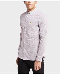 Lyle & Scott - Multicolor Long Sleeve Tattersall Shirt for Men - Lyst