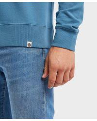 Pretty Green - Blue Cavendish Zip Pocket Sweatshirt for Men - Lyst