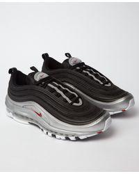 7a4b6e2ae85e Lyst - Nike Air Max 97  b-sides  Qs Black   Silver in Black for Men