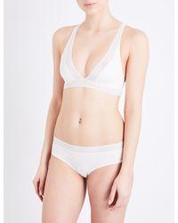 Passionata - White Dream Passio Stretch-knit Soft-cup Bra - Lyst