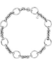 Links of London - Black Capture Sterling Silver Bracelet - Lyst