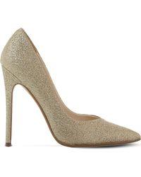 Steve Madden | Metallic Wicket Glitter Court Shoes | Lyst