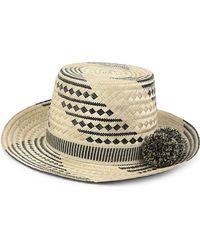Yosuzi - Multicolor Siruma Straw Hat - Lyst