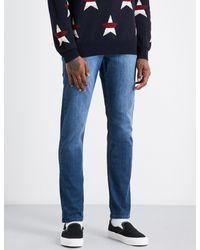 PAIGE - Blue Lennox Slim-fit Skinny Jeans for Men - Lyst