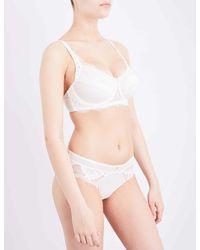 1e2cdc3f44 Amoena Aurelie Mastectomy Underwired Lace Bra in White - Lyst