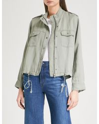 Rails - Multicolor Collins Woven Military Jacket - Lyst