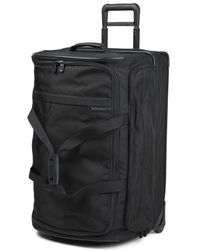 Briggs & Riley - Black Baseline Large Upright Duffle Bag 71cm - Lyst