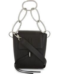 3.1 Phillip Lim - Black Leigh Chain-link Leather Shoulder Bag - Lyst