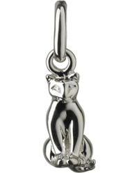 Links of London - Metallic Cat Sterling Silver Charm - Lyst