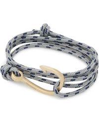 Miansai | Blue Rope Hook Bracelet | Lyst