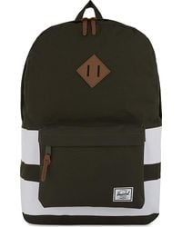 Herschel Supply Co. | Green Heritage Canvas Backpack | Lyst