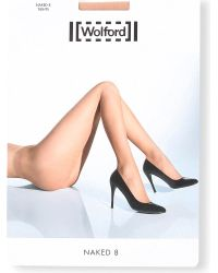 Wolford | Natural Naked 8 Tights | Lyst