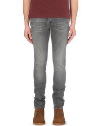 Nudie Jeans - Blue Grim Tim Regular-fit Straight Jeans for Men - Lyst