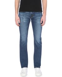 AG Jeans - Blue Matchbox Slim-fit Straight-leg Jeans for Men - Lyst