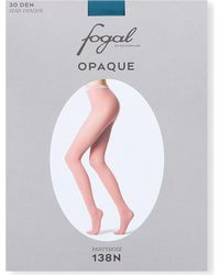 Fogal - Green Opaque Tights - Lyst