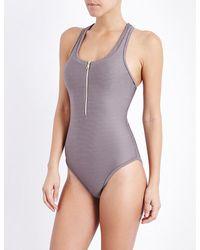 Heidi Klein - Purple Huntington Beach Swimsuit - Lyst