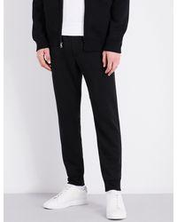 Polo Ralph Lauren - Black Tapered Cotton-blend Jogging Bottoms for Men - Lyst