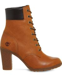 Timberland | Brown Glancy 6 Inch Leather Ankle Boot | Lyst