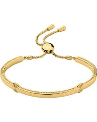 Links of London - Metallic Narrative 18ct Gold Vermeil Bracelet - Lyst