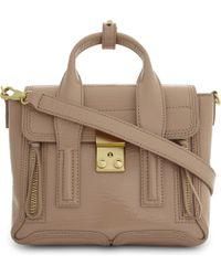 3.1 Phillip Lim - Brown Ladies Ceramic Innovative Luxurious Pashli Leather Mini Satchel - Lyst