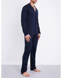 La Perla | Blue Cotton Pyjama Trouser Set for Men | Lyst