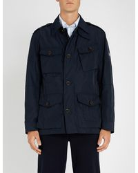 Ralph Lauren Purple Label - Blue Utility Shell Jacket for Men - Lyst