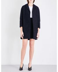 Claudie Pierlot | Black Gaelle Lace Coat | Lyst