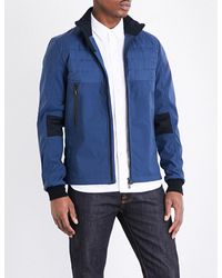 Canada Goose | Blue Jericho Down-filled Shell Bomber Jacket for Men | Lyst