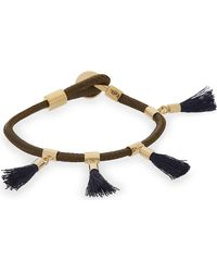 Chloé | Multicolor Marin Tasseled Bracelet | Lyst