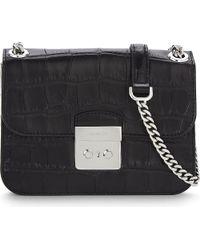 MICHAEL Michael Kors | Black Sloan Medium Leather Shoulder Bag | Lyst