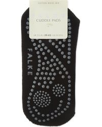 Falke - Black Cuddle Pads Socks - Lyst