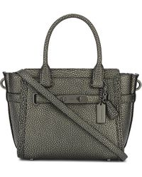 COACH | Multicolor Swagger 21 Pebbled Leather Tote | Lyst