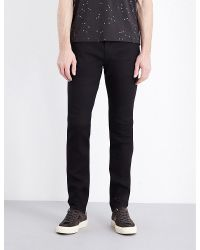 Armani Jeans | Black J06 Slim-fit Tapered Jeans for Men | Lyst