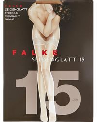Falke | Natural Siedenglatt 15 Denier Stockings | Lyst