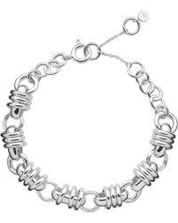 Links of London - Metallic Sweetie Charm Chain Bracelet - Lyst