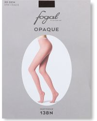 Fogal | Black Opaque Tights | Lyst