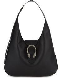 Gucci | Black Dionysus Extra Large Leather Hobo | Lyst