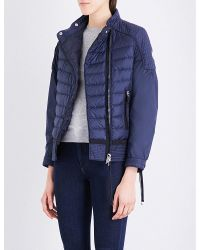 Moncler | Blue Aubagne Quilted Jacket | Lyst