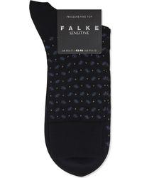 Falke - Blue Sensitive Paisley Socks for Men - Lyst