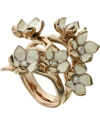 Shaun Leane   Metallic Cherry Blossom Rose-gold Vermeil   Lyst