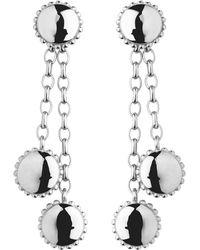 Links of London   Metallic Amulet Sterling Silver Drop Earrings   Lyst