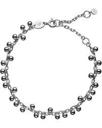 Links of London | Metallic Effervescence Bubble Sterling Silver Bracelet | Lyst