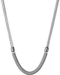 Links of London   Metallic Effervescence Star Sterling Silver Necklace   Lyst