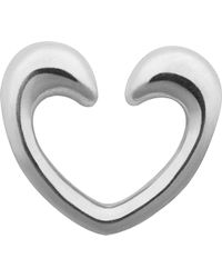 Links of London | Metallic Heart Sterling Silver Charm Catcher | Lyst